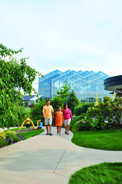 The Frederik Meijer Gardens & Sculpture Park is home to Lena Meijer Children's Garden.