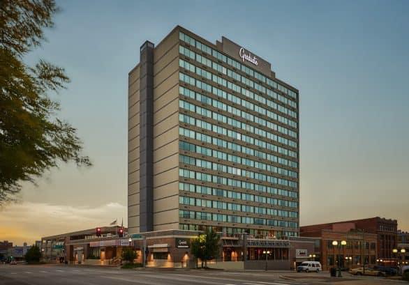Hotel in Lincoln's Haymarket - Graduate Lincoln