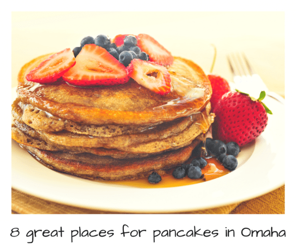 Where to find the best pancakes in Omaha | Restaurants that serve great pancakes for breakfast (or any other time of day) #Omaha #Nebraska #eatlocal