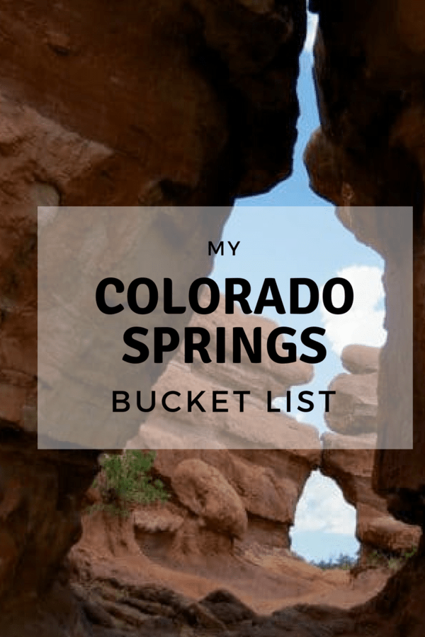 Great list of fun things to do in Colorado Springs #AD #FamilyTravel #ColoradoSprings