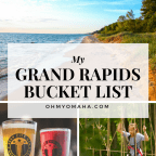bucket list of things to do in Grand Rapids