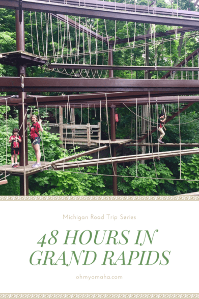 Guide to spending 48 hours in Grand Rapids, Michigan with kids - Tips on where to stay, fun things to do, museums to visit, and restaurants to dine at