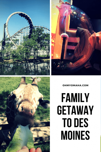 Des Moines family vacation