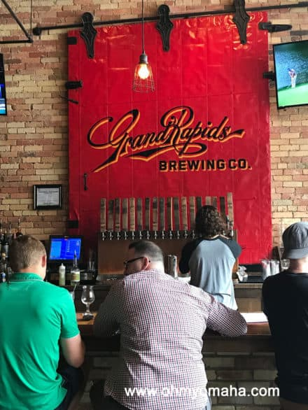 Bar at Grand Rapids Brewing Co.