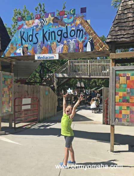 Des Moines Zoo Kids Area