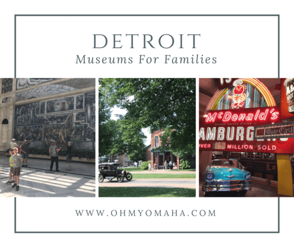 Favorite family-friendly museums in Detroit