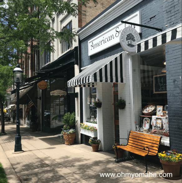 American Spoon storefront in Petoskey