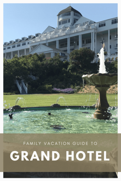 Family vacation guide to staying at the Grand Hotel on Mackinac Island, Michigan  #familytravel