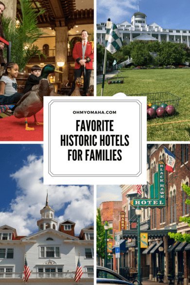 Recommended historic hotels for families in the U.S. #familytravel