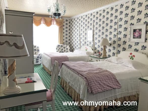 Room at Grand Hotel on Mackinac Island