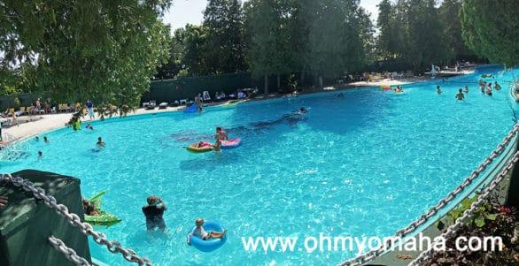 Pool at Grand Hotel on Mackinac Island