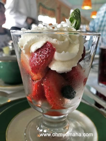 Breakfast at Grand Hotel on Mackinac Island
