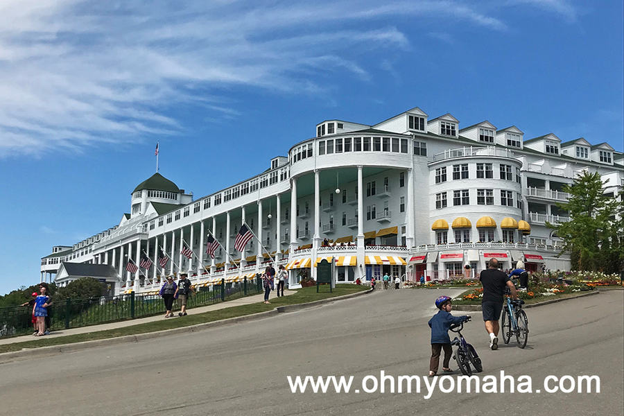 Where to stay on Mackinac Island - Grand Hotel