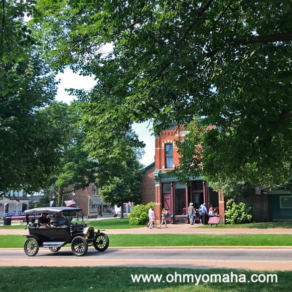 Greenfield Village was a picturesque walk through time.