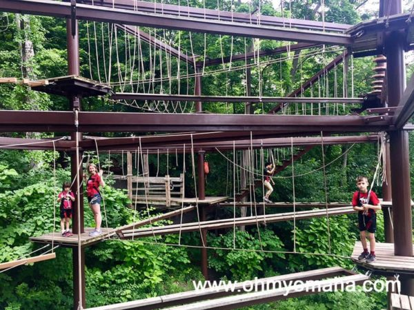 Things to do in Grand Rapids, Michigan - Try the ropes course at John Ball Park Zoo
