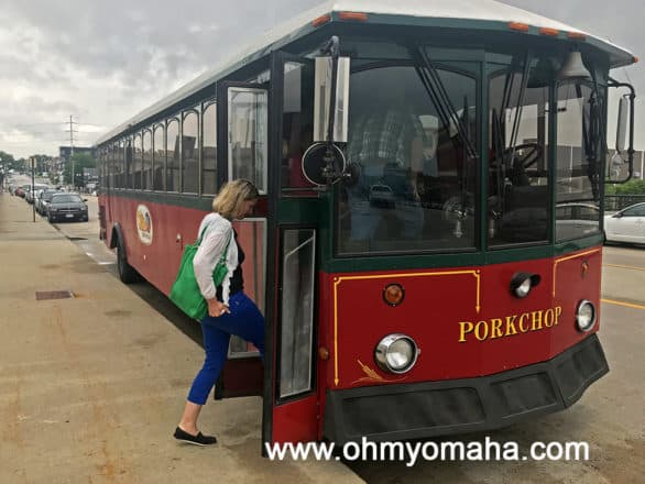 Durham Museum's River City History Tours trolley