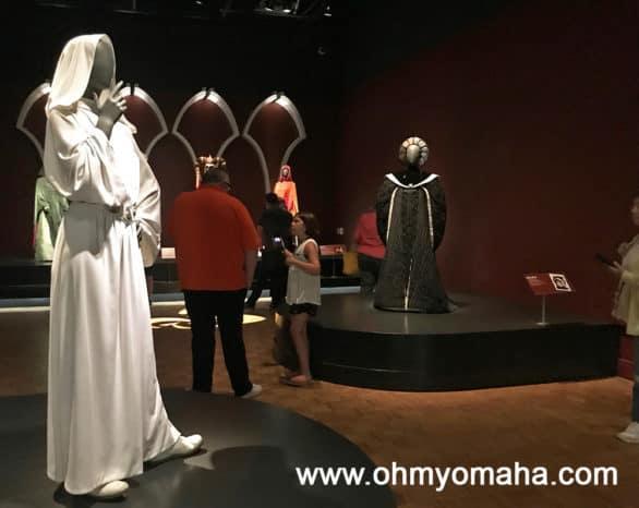 Traveling Star Wars exhibit