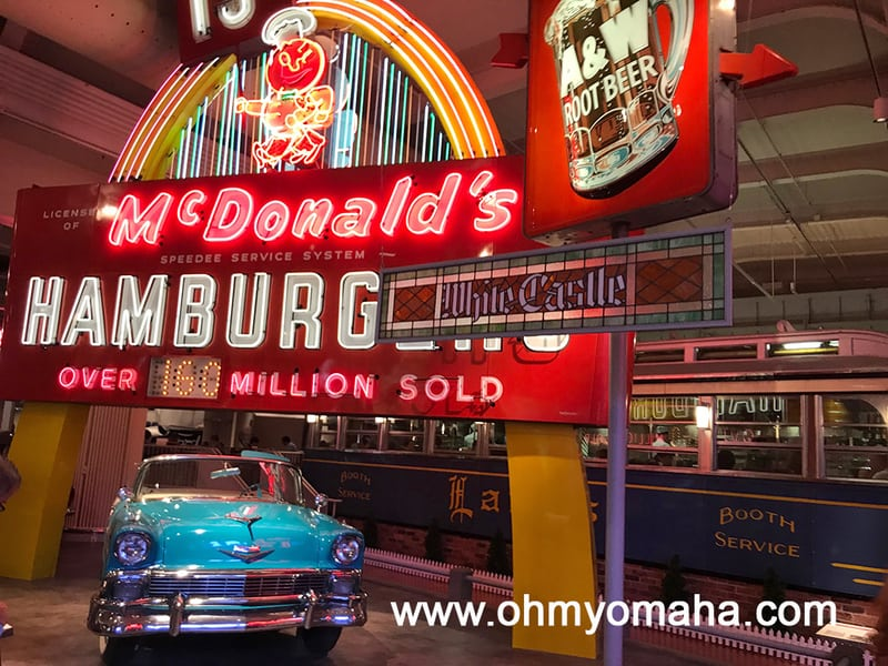 Neon Signs and Lamy's Diner at The Henry Ford