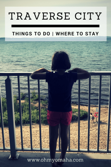 Planning a family vacation to Traverse City, Michigan? Here are kid-friendly things to do, places to eat and a tip on where to stay if you want a private beach. #puremichigan #familytravel
