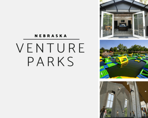List of what has opened at the Nebraska Venture Parks and what is planned. These are all parks within 30 miles of Omaha.