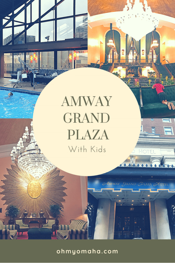 Staying at the Amway Grand Plaza with kids #familytravel #grandrapids #michigan #experiencegr