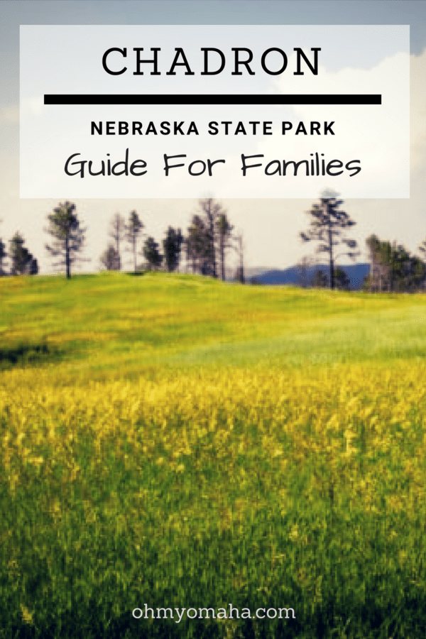 Family-friendly things to do at Chadron State Park in western Nebraska, including hikes, trail rides & paddleboats. See what a cabin at the park looks like too. #Nebraska #outdoors #hiking #familytravel