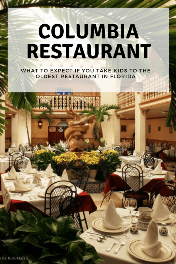 Columbia Restaurant - Florida's oldest restaurant was started in Tampa in 1905