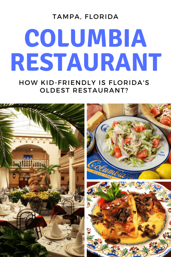 What to expect at Columbia Restaurant, Florida's oldest restaurant, especially if you bring kids with you. #Tampa #restaurant #Florida #kidfriendly