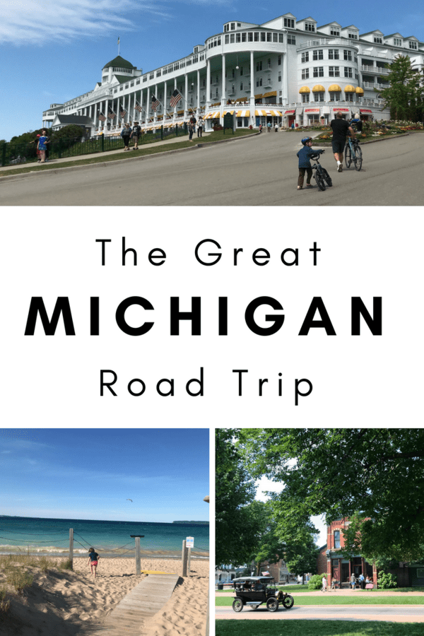 An awesome road trip itinerary through Michigan - Tips on where to eat, stay & play in cities like Grand Rapids, Detroit & Mackinac Island #roadtrip #vacation #familyvacation