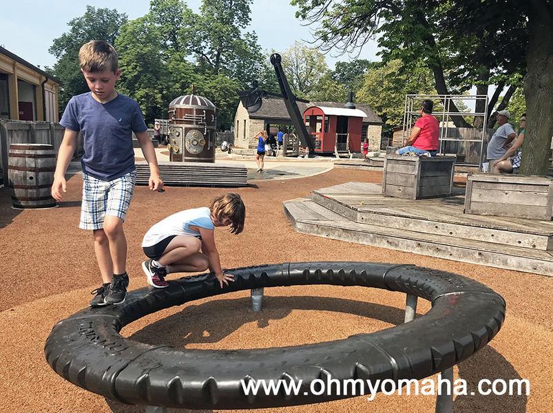 Playground at Greenfield Village