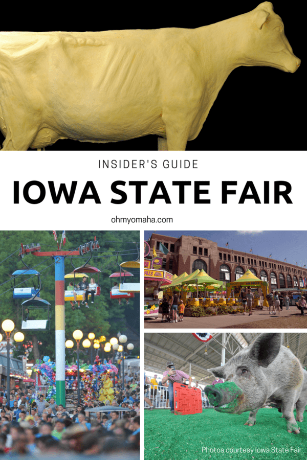 Guide to things to do, food to eat, and what not to miss at the Iowa State Fair #thisisiowa #desmoines #statefair #ISF