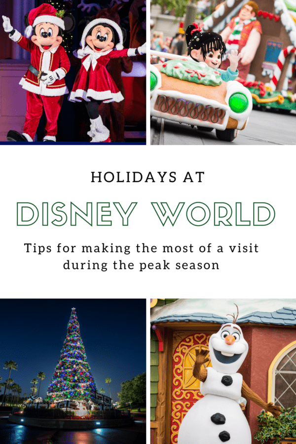 Tips for visiting Disney World during the holidays #Christmas #WDW #familytravel #Florida