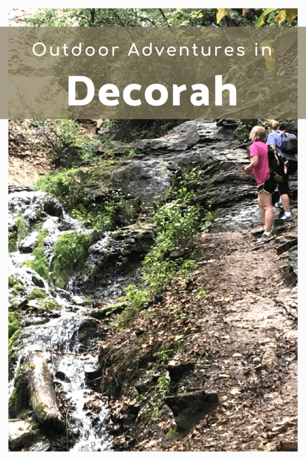 Kayaking, biking, and climbing a waterfall in Decorah, Iowa - Here's how to have an active getaway in eastern Iowa #thisisiowa #outdoors #adventure