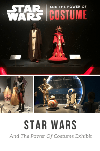 "What to expect if you take kids to see ""Star Wars and the Power of Costume"" exhibit in Detroit #StarWars #Art #Costumes #Review"