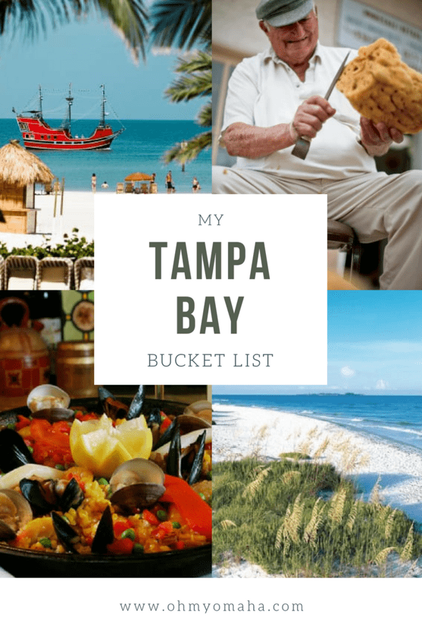 The ultimate Tampa Bay bucket list of things to do, eat, and see in the region #Florida #travel #vacation