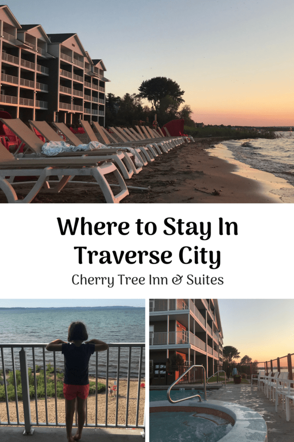 Where to stay in Traverse City - Review of Cherry Tree Inn & Suites, a waterfront hotel in Traverse City #Michigan #review #famllytravel