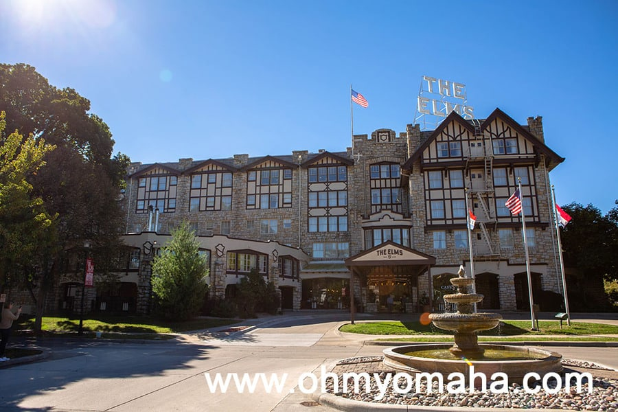 Exterior of The Elms Hotel & Resort
