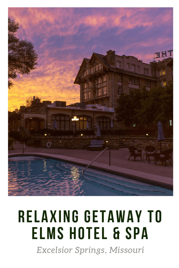 Looking for a romantic or relaxing couples getaway? The Elms Hotel & Spa in Missouri fits the bill - A large spa, attentive employees, and the Royal Treatment - all packaged in a historic building #Missouri #USA #ExcelsiorSprings #hotelreview