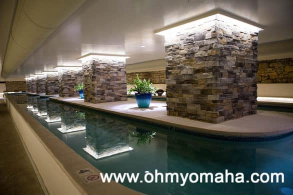 Indoor pool at The Elms