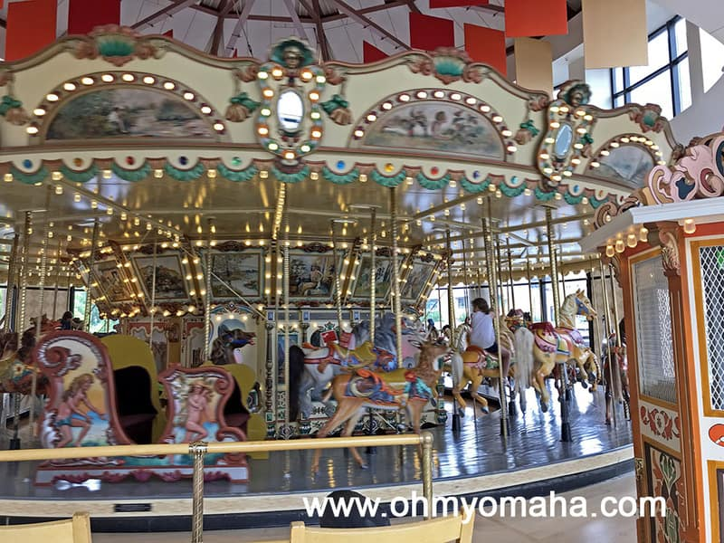 Old carousel at Grand Rapids Public Museum