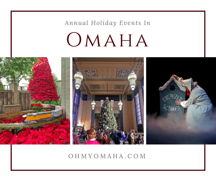 Looking for annual Christmas shows, holiday displays and kid-friendly activities in Omaha? Here's a round up of celebrations you can count on each year during the holiday season.