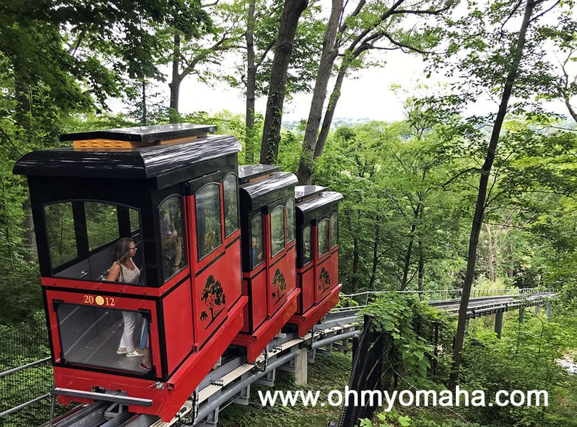 Funicular at John Ball Zoo in Grand Rapids, Michigan