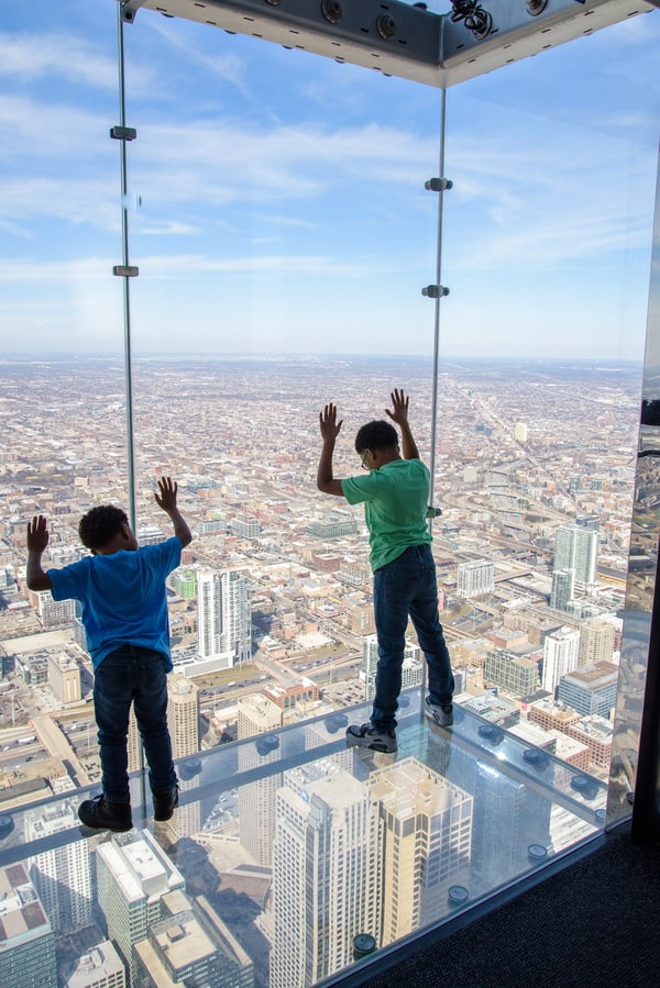 Willis Tower The Ledge view