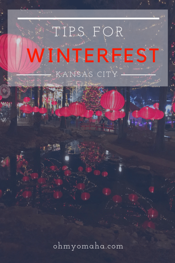 Things to know and helpful tips for attending WinterFest, an annual event at Worlds of Fun in Kansas City #KC #Christmas #holidays
