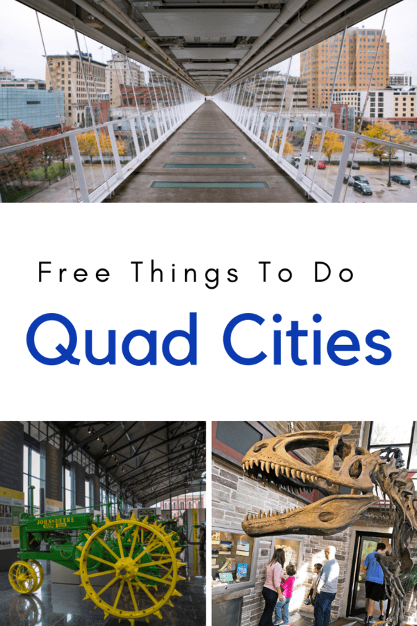 3 free things to do in the Quad Cities that kids will love #Illinois #Iowa #familytravel