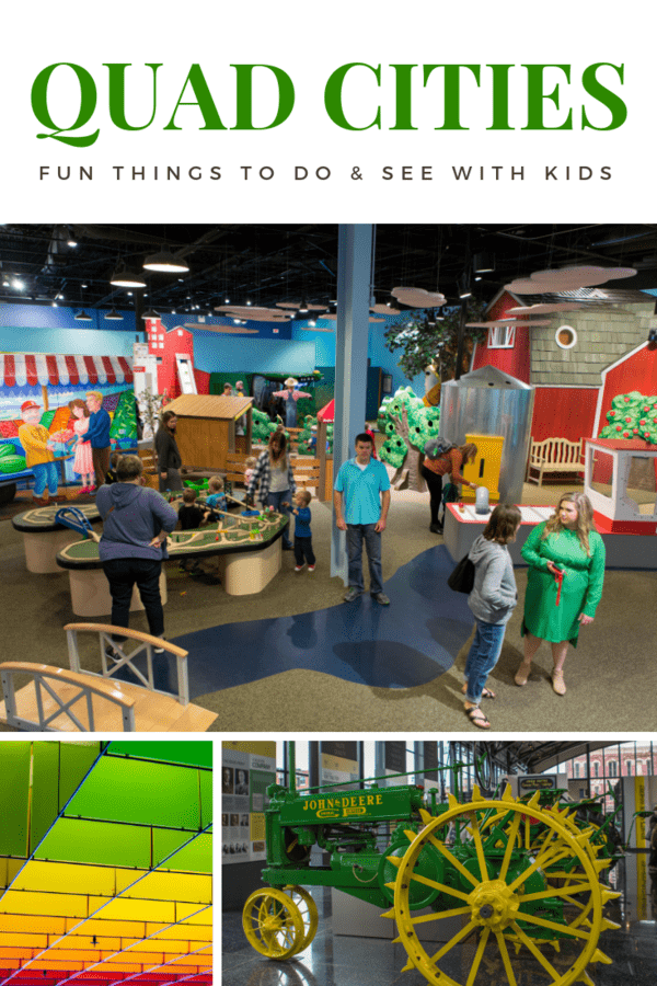 Family guide to fun things to do in Quad Cities (Iowa & Illinois) - Recommendations for restaurants, museums & hotel for a family-friendly getaway in the Quad Cities of Iowa and Illinois