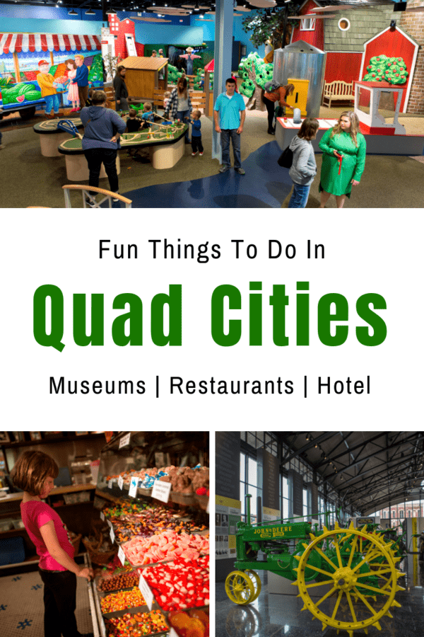 Exploring the Quad Cities in Iowa & Illinois with kids - Fun things to do in the Quad Cities, including family-friendly museums, restaurants, breweries & hotel