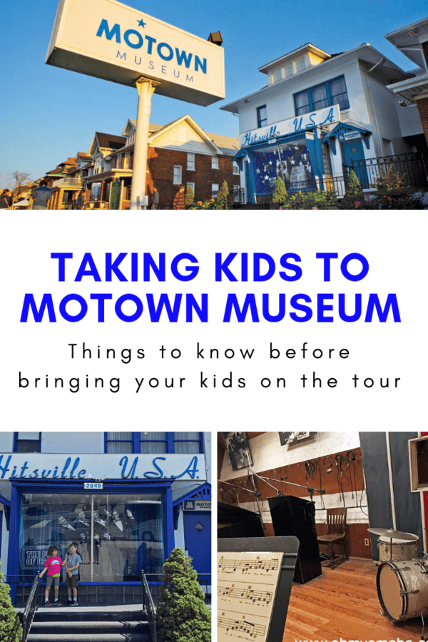 What to expect if you bring little ones to Motown Museum in Detroit, Michigan. #tips #familytravel #USA