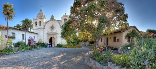 San Carlos Borromeo del Rio Carmelo Mission in Carmel-by-the-Sea California