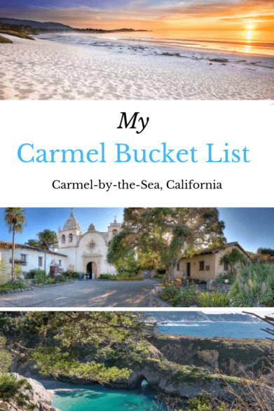 Stunning views, great restaurants and more things on this wish list of things to do in Carmel-by-the-Sea, California #wishlist #bucketlist #California